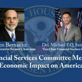 """FINANCIAL SERVICES COMMITTEE MEETING """"ECONOMIC IMPACT ON AMERICA"""""""